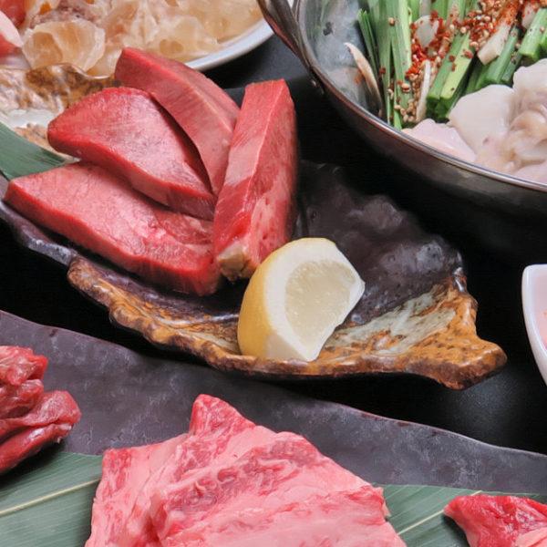 もつ鍋・焼肉贅沢コース(全12品)