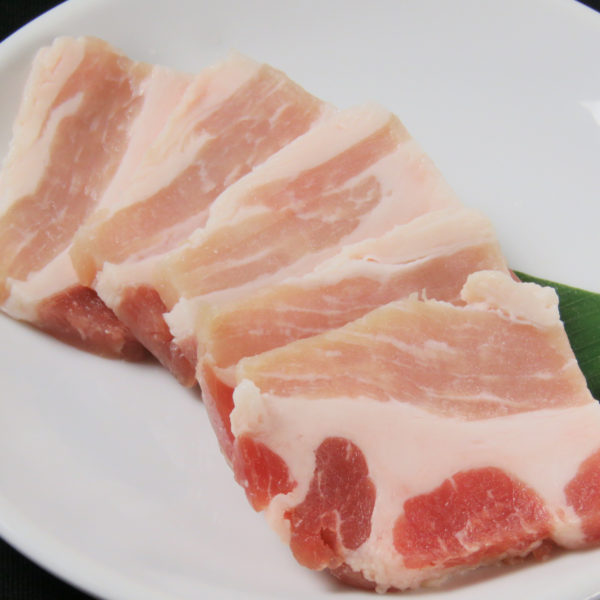 【ホエー豚】豚バラ  ≪しお・たれ≫