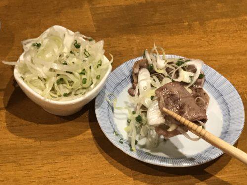 豚タン(ネギ塩タン)の美味しい食べ方
